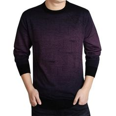 Casual Brand knitted Sweater Men christmas slim knitwear winter male polo sweter O-Neck patterns pullover sweaters pull homme Winter Sweaters, Wool Sweaters, Pullover Sweaters, Mens Fashion Sweaters, Sweater Fashion, Men's Fashion, Fashion 2018, Fashion Tips, Cashmere Sweater Men