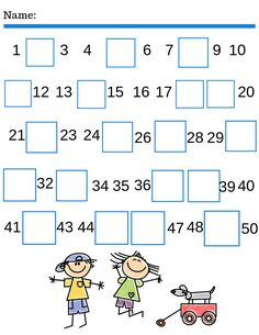 Life and Homeschooling offers over 500 Free preschool & kindergarten printable activity for homeschooling add-on worksheet. Free Language Arts, Math, Science, Social Studies, and more! Number Worksheets Kindergarten, Free Worksheets For Kids, Homeschool Worksheets, Numbers Preschool, Homeschooling, Free Math, Math For Kids, Simple Math, Missing Number