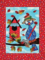 Wall Quilt Downloads - Fall for All Low-Sew Wall Hanging Pattern