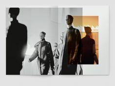 "Rick Owens, Look book, ""Mountain Women"" - Notter + Vigne Mise En Page Portfolio, Portfolio Book, Portfolio Layout, Portfolio Design, Lookbook Layout, Lookbook Design, Web Design, Layout Design, Editorial Layout"