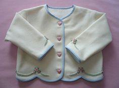 Cómodo como un error bordados de lana de chaqueta por GailDoane