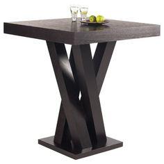 Madero Bar Table in Espresso