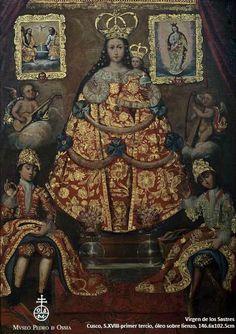 Virgen de los Sastres. Cusco, siglo XVIII, primer tercio del siglo XVIII…