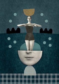 Super Symmetrie / Print / Plakat by Mathilde Aubier