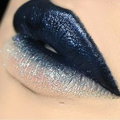 Gorgeous Deep Icy Glittery Navy Blue Lips! Blue Paint | Blue Makeup | Fashion | Blue Wallpaper | Sea | Blue Sky | Flowers | Blue Water | Pastel | Color | Texture | Sand | White Sea | Seashells | White Sandy Beach | Summer Time | White Beach Summer Cake | Surf Boards | Palm Trees | Summer Blue Color | Blue Color Outfit | Blue Color Wallpaper | Blue Color Scheme | Blue Color | Fashion | Blue Color Flowers | Blue Color Nails | Blue Color Hair | Blue Color Interiors | Maternity Inspiration…