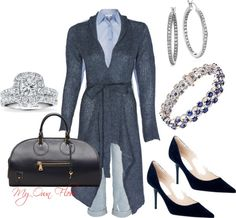 """""""LOVIN' THE BLUES"""" by myownflow on Polyvore"""