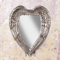 #angel #wings #romantic #mirror