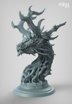 ArtStation - Forest Dragon, Paul Tan