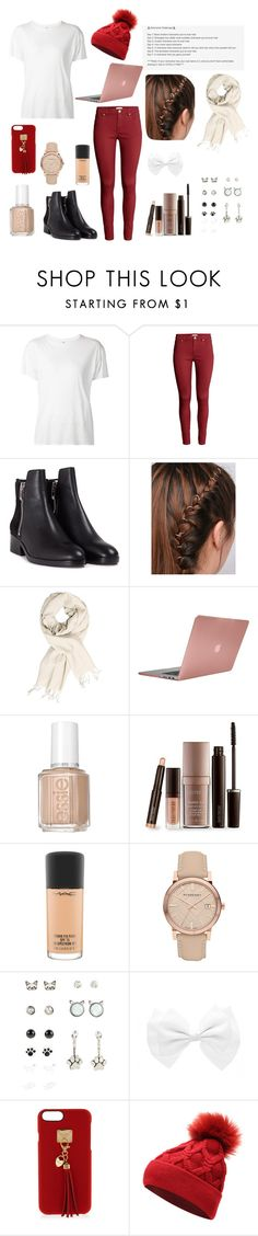 """""""Day 6: My 7 Day Nicknaming Challenge"""" by aspen-amber ❤ liked on Polyvore featuring R13, H&M, 3.1 Phillip Lim, Incase, Laura Mercier, MAC Cosmetics, Burberry and Henri Bendel"""