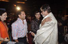 Sachin Tendulkar and Amitabh Bachchan @ Sachin Pilgaonkar Book Launch