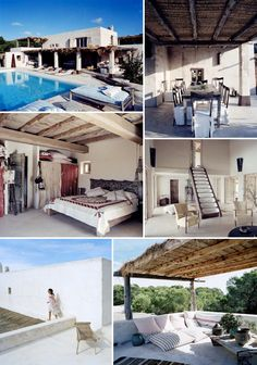 Formentera - Consuelo Castiglioni's vacation home. Sigh, just as boho chic as her label, Marni.