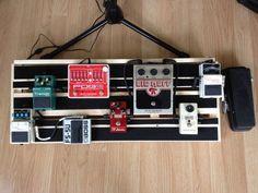 The $11 DIY Guitarist's Pedal Board The Velvet Chameleon