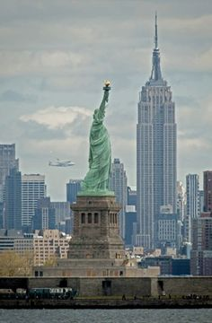 Spot the Space Shuttle flying over NYC on its final journey to museum life!