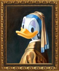 Duck with a Pearl Earring by Maggie Parr