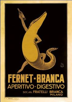 fernet branca vintage posters - Google Search