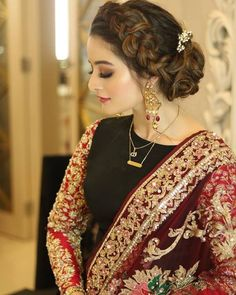 Pakistani Bridal Makeup, Pakistani Wedding Outfits, Bridal Outfits, Pakistani Dresses, Pakistani Hair, Pakistani Suits, Stylish Dresses, Fashion Dresses, Suit Fashion