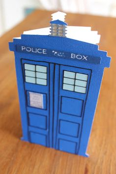 Tardis card/files