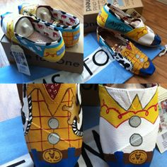 Woody and Jessie TOMS by RubiiShoos on Etsy, $103.20