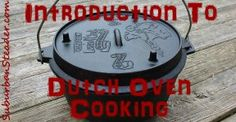 An Introduction To Dutch Oven Cooking