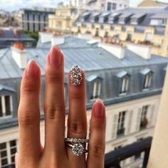 Wedding Nails, Wedding Jewelry, Wedding Rings, Wedding Band, Perfect Wedding, Dream Wedding, Engagement Wedding Ring Sets, Ring Verlobung, Diamond Are A Girls Best Friend