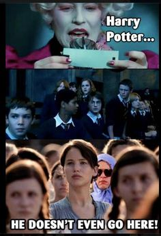 Harry Potter, Hunger Games AND Mean Girls? Amazing