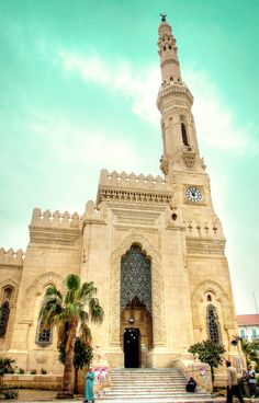 Alexandria (Egypt). Who wouldn't want to visit a country with such rich history!