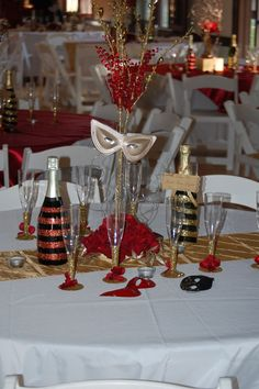 Table Decorations For Masquerade Ball Black And Gold Party Table Decorations  Mothers Day Event