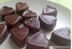 Vaníliás narancsos csokoládé házilag