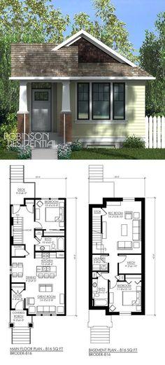 816 sq. ft, 1 bedroom, 1 bath.  ~ Great pin! For Oahu architectural design visit http://ownerbuiltdesign.com