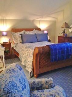 Watercress Springs Estate Sales » Silvermine Estate Sale - Watercress Springs Estate Sales - Full Size  Wicker Bed (duplicate)