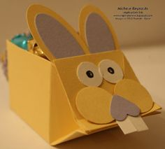 milk carton bunny or adapt to small favor boxes
