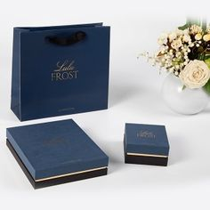 Jewerly Packaging Wholesale 68 Ideas For 2019 Fashion Packaging, Jewelry Packaging, Box Packaging, Design Packaging, Personalised Box, Personalized Jewelry, Custom Jewelry, Jewelry Boxes Wholesale, Paper Bag Design