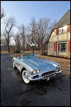 1958 Chevrolet Corvette Fuelie 283/290 HP, 4-Speed