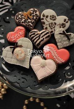 「 2013バレンタインアイシングクッキーツアー(?)終了 」の画像|アイシングクッキー*シュガークラフト 東京シュガーアートにいさちこ|Ameba (アメーバ)