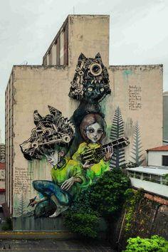 Herakut - San Paulo Street Art
