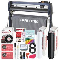 Graphtec Vinyl Cutter w/ BONUS Software, Bundle & 3 Year Warranty - Swing Design Auto Alignment, Heat Transfer Vinyl, Transfer Tape, Swing Design, Siser Easyweed, Sign Maker, Vinyl Cutter, Adhesive Vinyl