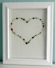 Sea glass---I think I will try this with seashells