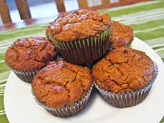 Paleo pumpkin walnut muffins (plus loads of other paleo recipes for breakfast, lunch, and dinner)