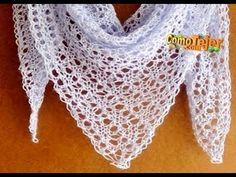 How to Knit Lace Shawl. How to Knit Lace Shawl, 2 needles – The Best Ideas Crochet Diagram, Crochet Motif, Crochet Shawl, Knit Crochet, Knit Lace, Crochet Stitches Patterns, Knitting Stitches, Knitting Patterns, Prayer Shawl Patterns