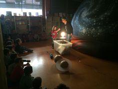 Planetarium en el colegio. Una actividad para conocer el espacio en la escuela