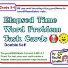This resource includes two sets of word problem task cards. There are several types of problems within each set. Some cards require students to fin...