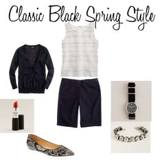 Classic Black Spring Style