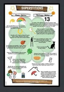 Superstitions | Piktochart Infographic Editor