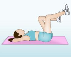 Exercice ventre plat : le pédalo