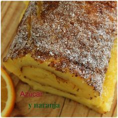 BRAZO DE NARANJA Sweet Recipes, Cake Recipes, Chilean Recipes, Just Cakes, Pie Cake, No Cook Desserts, Sweet Cakes, Homemade Cakes, Perfect Food