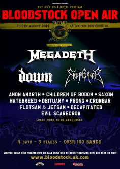 Bloodstock Announce More Bands To The Already Huge Line-Up - #AltSounds