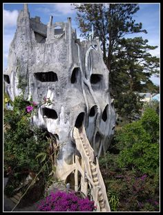 The 'Crazy House' Hotel in Vietnam.