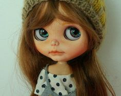 SALE ooak Custom Blythe doll by splattergirluk on Etsy