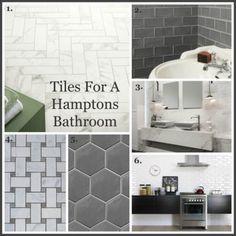 Tiles for a Hamptons Bathroom, Gallerie B