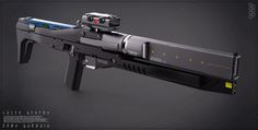 """crassetination: """"Weapons of the Future Assault Rifles """" That Lantac one is a real gun though… Sci Fi Weapons, Weapon Concept Art, Weapons Guns, Fantasy Weapons, Sci Fi Fantasy, Star Citizen, Rifles, Armes Futures, Sci Fi Waffen"""
